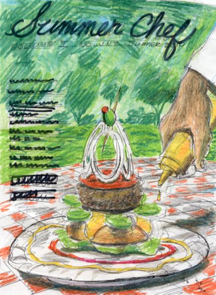 """Picnic"" poster sketch"